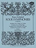 Four symphonies : from the Breitkopf & Härtel complet works edition